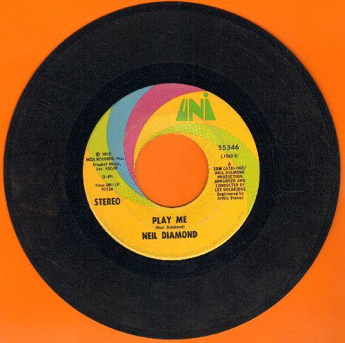 Diamond, Neil - Play Me/Porcupine Pie  - VG7/ - 45 rpm Records