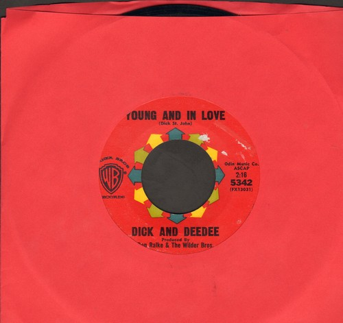 Dick & Dee Dee - Young And In Love/Say To Me  - EX8/ - 45 rpm Records