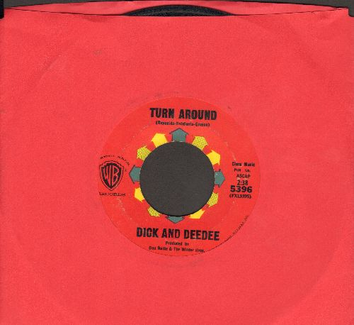 Dick & Dee Dee - Turn Around/Don't Leave Me (with juke box label) - EX8/ - 45 rpm Records
