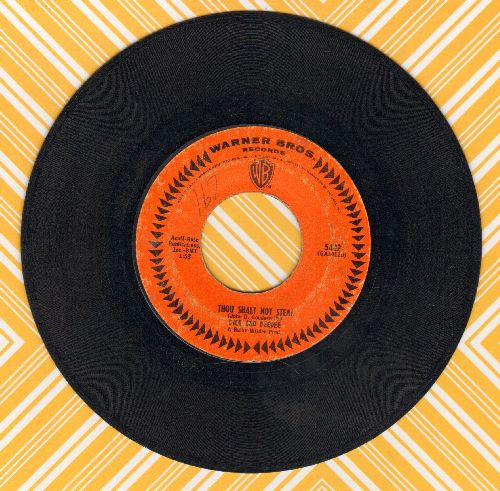 Dick & Dee Dee - Thou Shalt Not Steal/Just 'Round The River Bend  - VG6/ - 45 rpm Records