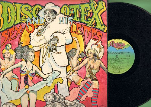 Disco Tex & The Sex-O-Lettes Review - Disco Tex & The Sex-O-Lettes Review: I Wanna Dance Wit Choo, Boogie Flap, Get Dancin', Outrageous (vinyl STEREO LP record) - NM9/VG7 - LP Records