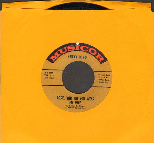 Dino, Kenny - What Did I Do/Rosie, Why Do You Wear My Ring - EX8/ - 45 rpm Records