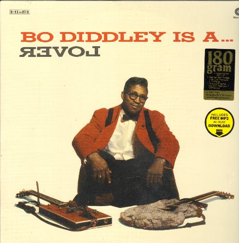 Diddley, Bo - Bo Diddley Is A Lover: Not Guilty, Bo's Vacation, Shank, Congo, Bo Diddley Is Loose, Quick Draw (Limited Edition E.U. 180 gram heavy vinyl re-issue) - SEALED/SEALED - LP Records