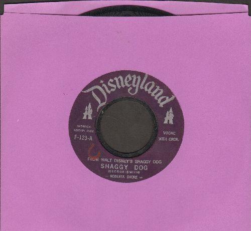 Shore, Roberta - Shaggy Dog/C'est Chiffon - VG7/ - 45 rpm Records