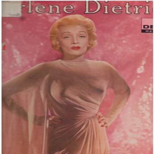 Dietrich, Marlene - Marlene Dietrich: Lili Marlene, You've Got That Look, Black Market, Falling In Love Again, You Do Something To Me (vinyl MONO LP record, pink label DJ advance pressing) - EX8/G5 - LP Records