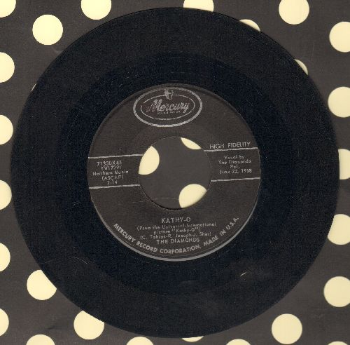 Diamonds - Kathy-O/Happy Years  - G5/ - 45 rpm Records