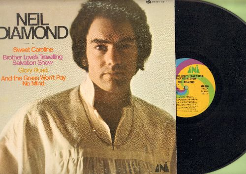 Diamond, Neil - Brother Love's Traveling Salvation Show: Sweet Caroline, Glory Road (vinyl STEREO LP record) - EX8/VG7 - LP Records