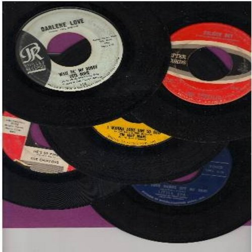 Little Eva, Chiffons, Shirelles, Jelly Beans, Darlene Love - Vintage Girl-Sound 5-Pack: 5 First issue 45s, all in very good or better condition. Hits include Keep Your Hands Off My Baby, Soldier Boy, He's So Fine, Wait Til My Bobby Gets Home, I Wanna Love