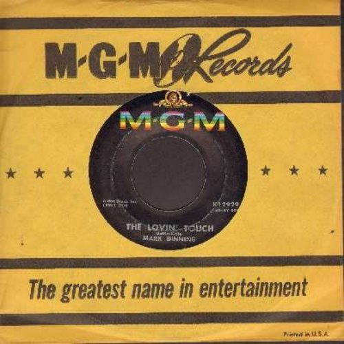 Dinning, Mark - The Lovin' Touch/Come Back To Me (with MGM company sleeve) - EX8/ - 45 rpm Records