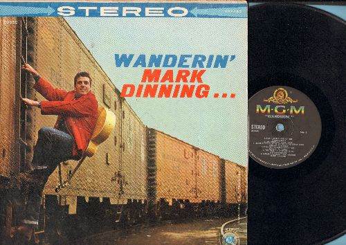 Dinning, Mark - Wanderin': Feather In The Wind, The Twelfth Of Never, The Japanese Farewell Song, Ramblin' Man (vinyl LP record, RARE STEREO Pressing!) - VG7/VG7 - LP Records