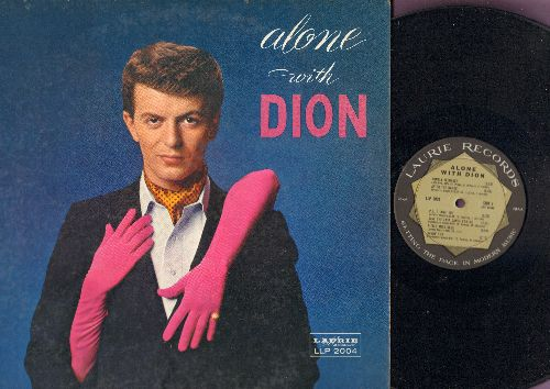 Dion - Alone With Dion: Lonely Teenager, Save The Last Dance For Me, Little Miss Blue, Fools Rush In, One For My Baby (vinyl MONO LP record, gat-fold cover) - NM9/EX8 - LP Records