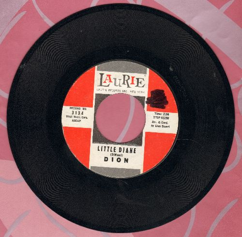 Dion - Little Diane/Lost For Sure (minor wol) - NM9/ - 45 rpm Records