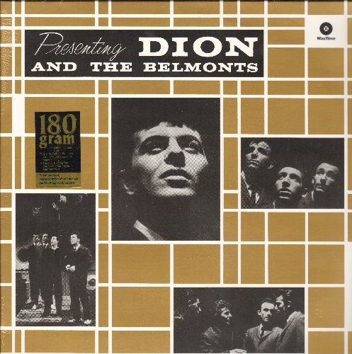 Dion & The Belmonts - Presenting Dion And The Belmonts: A Teenager In Love, That's My Desire, No One Knows (vinyl MONO LP record, 180 gram Virgin Vinyl EU re-issue, SEALED, never opened!) - SEALED/SEALED - LP Records