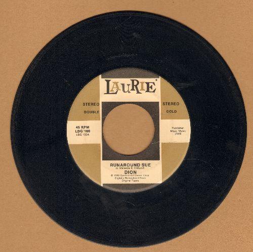 Dion - Runaround Sue/I Wonder Why (double-hit re-issue) - VG7/ - 45 rpm Records