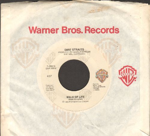 Dire Straits - Walk Of Life/One World  - EX8/ - 45 rpm Records