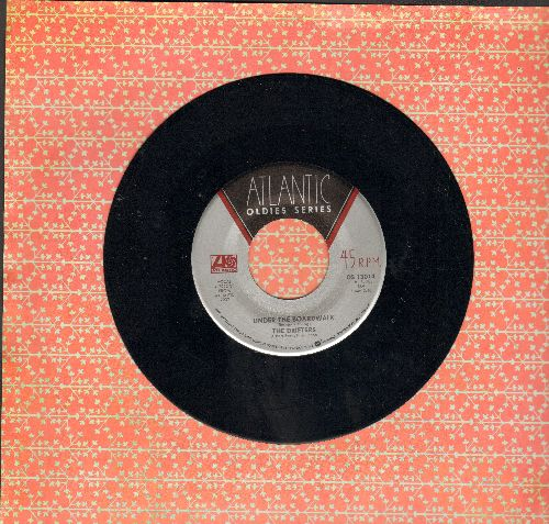 Drifters - Under The Board Walk/Ruby Baby (double-hit re-issue) - EX8/ - 45 rpm Records