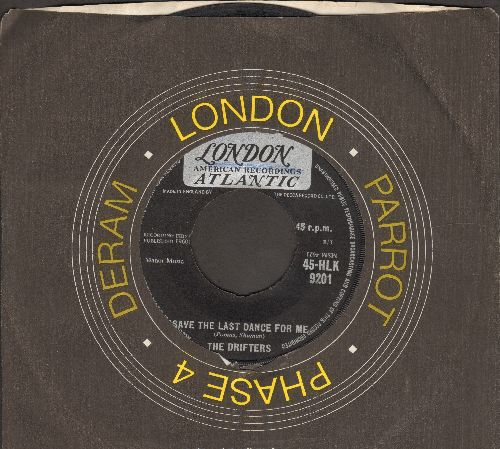 Drifters - Save The Last Dance For Me/Nobody But Me (British Pressing) - VG6/ - 45 rpm Records