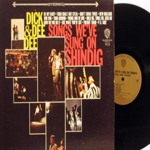 Dick & Dee Dee - Songs We've Sung On Shindig: Be My Baby, Thou Shalt Not Steal, Turn Around, How Do You Do It (vinyl STEREO LP record) - NM9/VG7 - LP Records