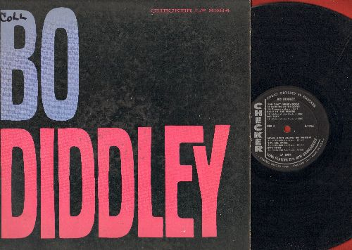 Diddley, Bo - Bo Diddley: You Can't Judge A Book By Looking At The Cover, Bo's Twist, Sad Sack, Diddling, Mr. Khrushchev, Bo's Bounce (vinyl MONO LP record, RARE 1962 first pressing) - VG7/VG6 - LP Records