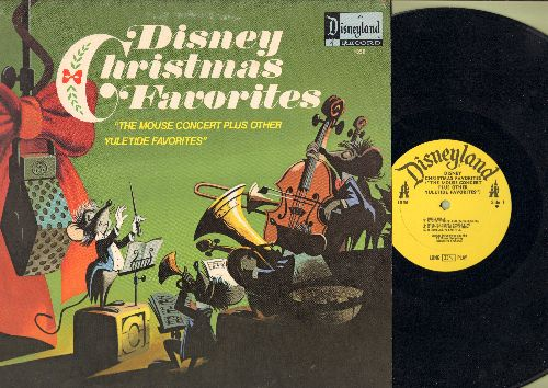 Disney - Disney Christmas Favorites - The Mouse Concert Plus Other Yuletide Favorites (vinyl MONO LP record) - EX8/EX8 - LP Records