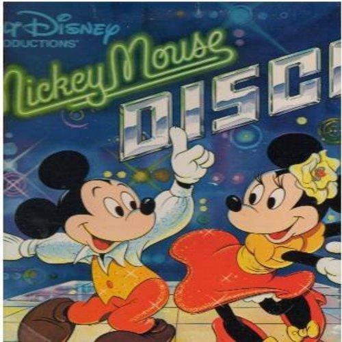 Disney - Wringle Wrangle/Westward Ho The Wagons (Instrumental with Chorus & Orchestra) - NM9/ - 45 rpm Records