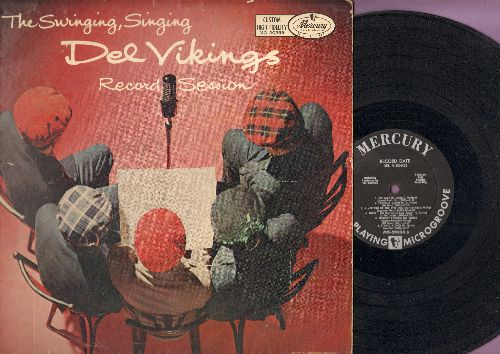 Del Vikings - The Swinging, Singing Del Vikings: Ameeting Of The Eyes, String Along, That's Why (I Love You So), The Big Beat (vinyl MONO LP record) - EX8/VG6 - LP Records