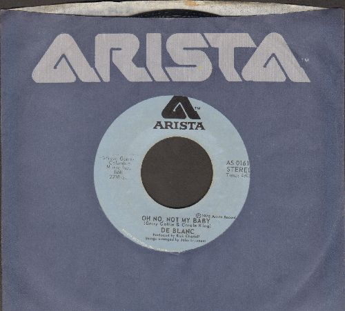 De Blanc - Oh No, Not My Baby/Guava Jelly (with Arista company sleeve) - EX8/ - 45 rpm Records
