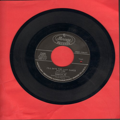 Damita Jo - I'll Save The Last Dance For You/Forgive (bb) - EX8/ - 45 rpm Records