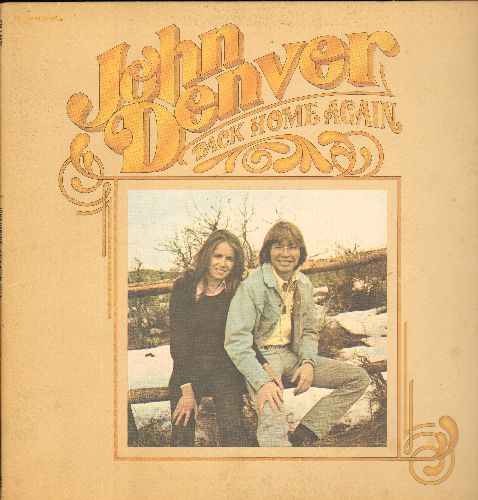 Denver, John - Back Home Again: Thank God I'm A Country Boy, It's Up To You, Annie's Song, Grandma's Feather Bed (vinyl STEREO LP record, gate-fold cover) - VG7/NM9 - LP Records