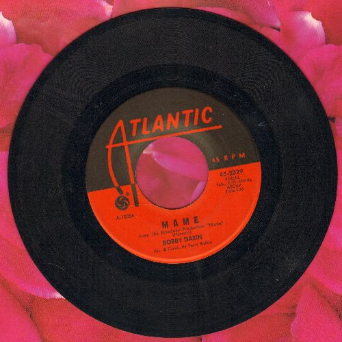 Darin, Bobby - Mame/Walking In The Shadow Of Love  - EX8/ - 45 rpm Records