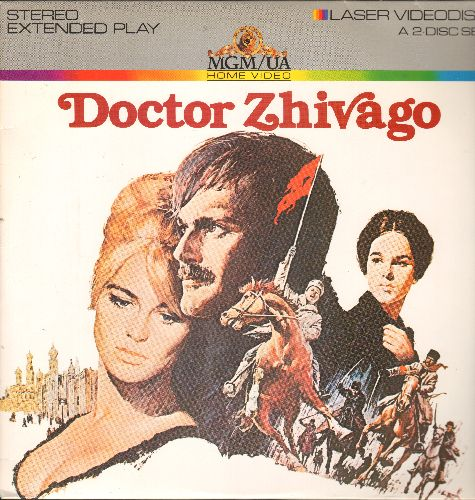 Doctor Zhivago - Doctor Zhivago - LASER DISC version of the Movie Classic, 2 Laser Discs, Deluxe Letter Box Edition (THIS IS A SET OF LASER DISCS, NOT ANY OTHER KIND OF MEDIA) - EX8/EX8 - Laser Discs