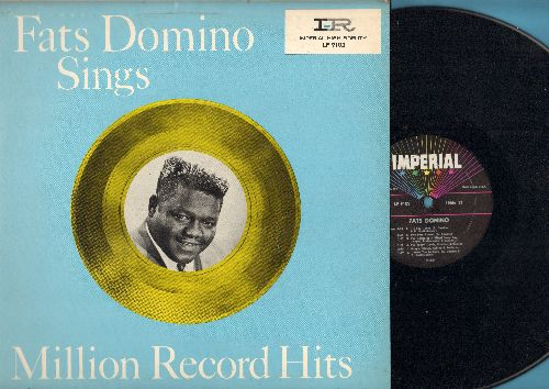 Domino, Fats - Million Record Hits: Be My Guest, I Want To Walk You Home, I'm Ready, Margie, I Want You To Know, You Said You Love Me (vinyl MONO LP record, pink) - NM9/EX8 - LP Records