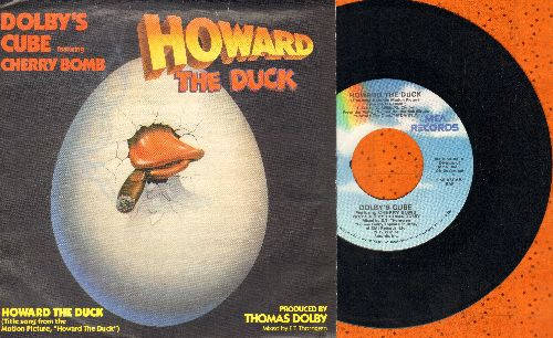 Dolby's Cube Featuring Cherry Bomb - Howard The Duck/Don't Turn Away (with picture sleeve) - NM9/NM9 - 45 rpm Records