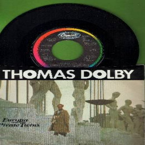 Dolby, Thomas - Europa And The Pirate Twins/Radio Silence (with picture sleeve) - NM9/VG7 - 45 rpm Records