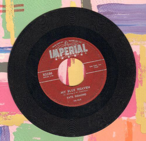 Domino, Fats - My Blue Heaven/I'm In Love Again - VG6/ - 45 rpm Records