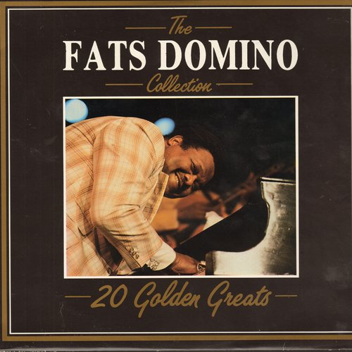 Domino, Fats - The Fats Domino Collection - 20 Golden Greats: Blueberry Hill, Blue Monday, Jambalaya, My Blue Heaven, Walking To New Orleans (vinyl LP record, 1985 Italian Pressing) - M10/NM9 - LP Records
