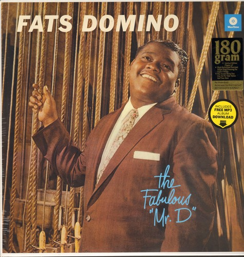 Domino, Fats - The Fabulous Mr. D.: The Big Beat, Sick And Tired, I Want You To Know, Margie (vinyl LP record, 18 gram Virgin Vinyl re-issue, EU pressing, SEALED, never opened!) - SEALED/SEALED - LP Records