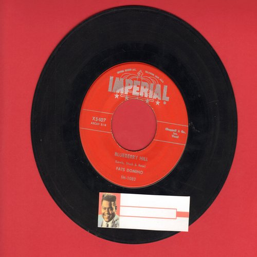 Domino, Fats - Blueberry Hill/Honey Chile (red label) (with juke box label) - VG7/ - 45 rpm Records