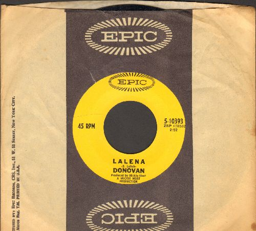 Donovan - Lalena/Aye My Love (with Epic company sleeve) - NM9/ - 45 rpm Records