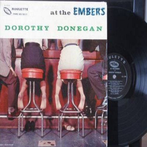 Donegan, Dorothy - At The Embers: Over The Rainbow, Sweet Georgia Brown, That Old Black Magic, My Funny Valentine, September Song (vinyl MONO LP record) - VG7/VG7 - LP Records