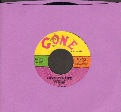 Donegan, Lonnie - Does Your Chewing Gum Lose Its Flavor (On The Bedpost Over Night) (BEST KNOWN song from the 1950s/60's -Skiffle- Novelty Craze)/Aunt Rhody  - VG7/ - 45 rpm Records