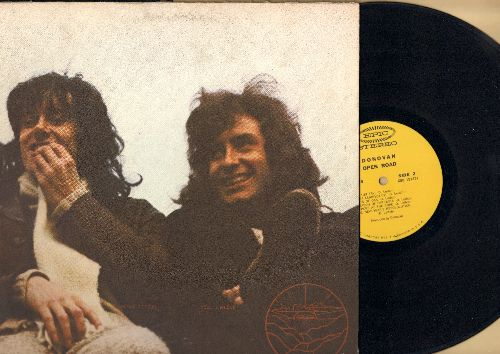 Donovan - Open Road: Changes, Celtic Rock, Joe Bean's Theme, Roots Of Oak (vinyl STEREO LP record, gate-fold cover) - EX8/VG7 - LP Records