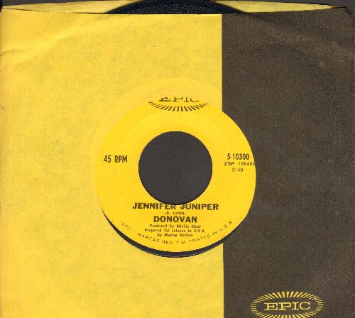 Donovan - Jennifer Juniper/Poor Cow (with Epic company sleeve) - NM9/ - 45 rpm Records