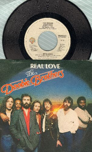 Doobie Brothers - Real Love/Thank You Love (with picture sleeve) - NM9/NM9 - 45 rpm Records