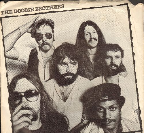 Doobie Brothers - What A Fool Believes/Don't Stop To Watch The Wheels (with picture sleeve) - NM9/VG7 - 45 rpm Records