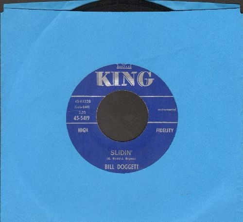 Doggett, Bill - Slidin'/Afternoon Jump - EX8/ - 45 rpm Records