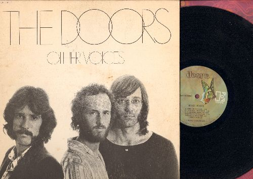 Doors - Other Voices: In The Eye Of The Sun, Tightrope Ride, Down On The Farm, I'm Horny I'm Stoned, Hang On To Your Life (vinyl STEREO LP recorr, gate-fold cover) - NM9/VG7 - LP Records