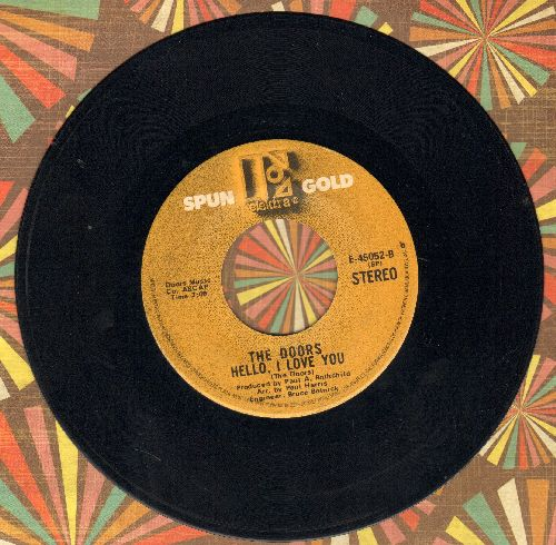 Doors - Touch Me/Hello, I Love You (double-hit re-issue) - EX8/ - 45 rpm Records
