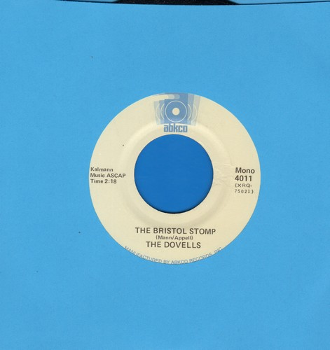 Dovells - The Bristol Stomp/You Can't Sit Down - EX8/ - 45 rpm Records