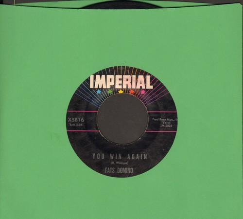 Domino, Fats - Ida Jane/You Win Again - EX8/ - 45 rpm Records